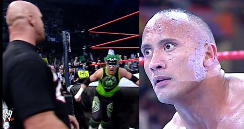 The Hurricane defeats The Rock on Raw