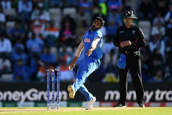 Virat Kohli has used Jasprit Bumrah brilliantly in this World Cup