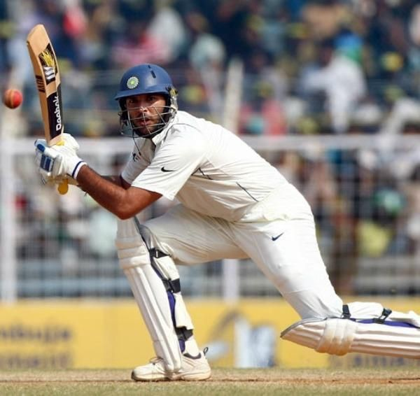 युवराज सिंह चेन्नई टेस्ट