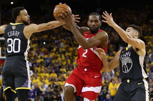 Kawhi Leonard has put the Raptors on the verge of their first NBA Championship