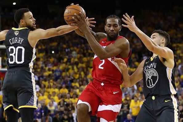 Kawhi Leonard has put the Raptors on the verge of their first NBA Championship