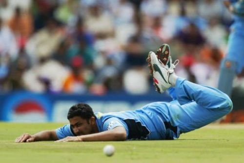 Kumble toiled in the 1999 World Cup but India's campaign fizzled out in the super-six stage.