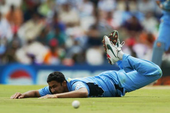 Kumble toiled in the 1999 World Cup but India