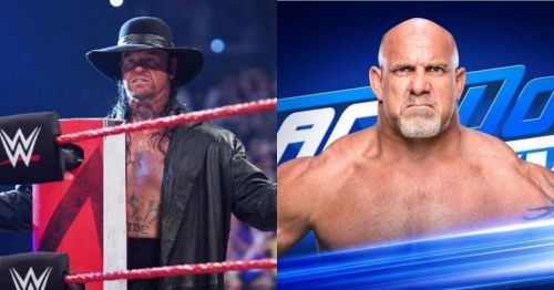 The Undertaker will return on RAW while Goldberg will make his SmackDown Live debut this week!