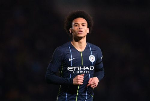 Sane has been linked with a move to Bayern Munich