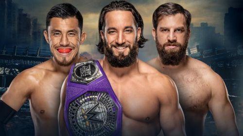WWE Cruiserweight Championship Match; Tony Nese (c) vs Akira Tozawa vs Drew Gulak