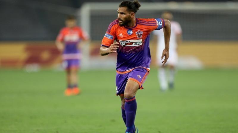 Adil Khan in Pune City colours