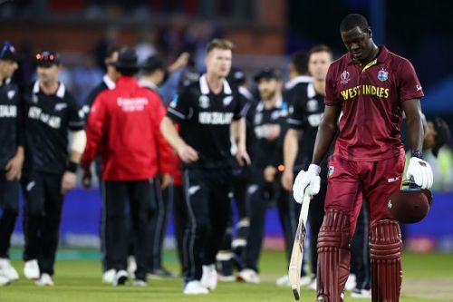 न्यूज़ीलैंड ने वेस्टइंडीज को 5 रन से हराया