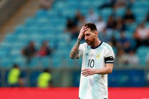 Lionel Messi has failed to impress in the Copa America so far