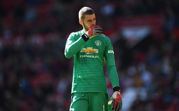 De Gea had a difficult end to the season at Old Trafford