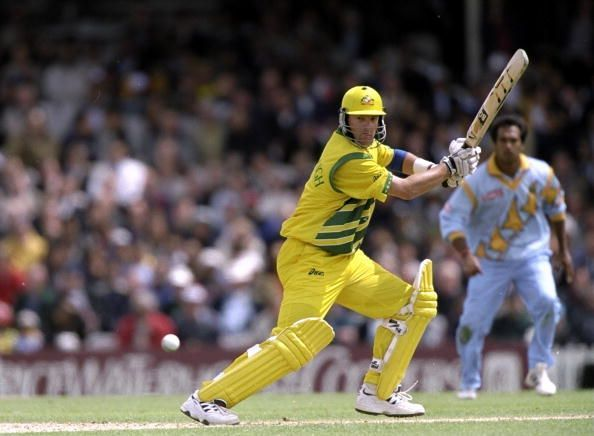 Mark Waugh scored over 1000 runs in the World Cup with an average above 50.