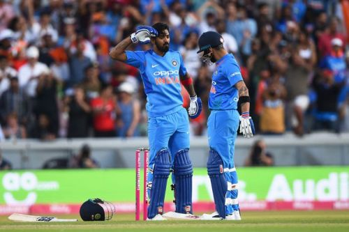 Virat kholi & KL Rahul Steady Fifty To help India Reach 300+ score