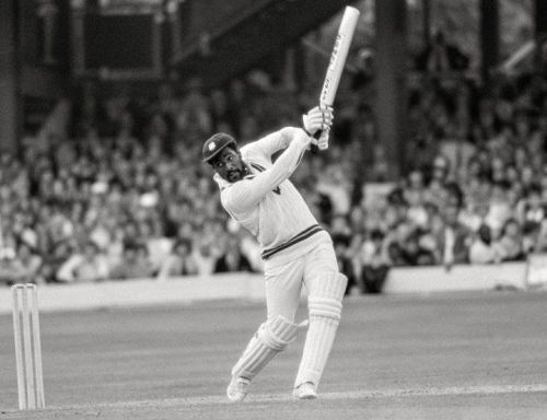 Viv Richards in action against England in 1979 Cricket World Cup