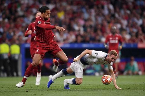 Liverpool's Virgil Van Dijk and Tottenham's Harry Kane played the Champions League final on Saturday - and could start Thursday's game too