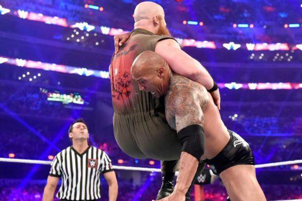The Rock vs Eric Rowan