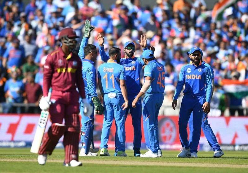 भारत ने वेस्टइंडीज को 125रनों से हराया