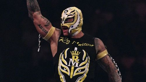 Rey Mysterio rejoined WWE last year