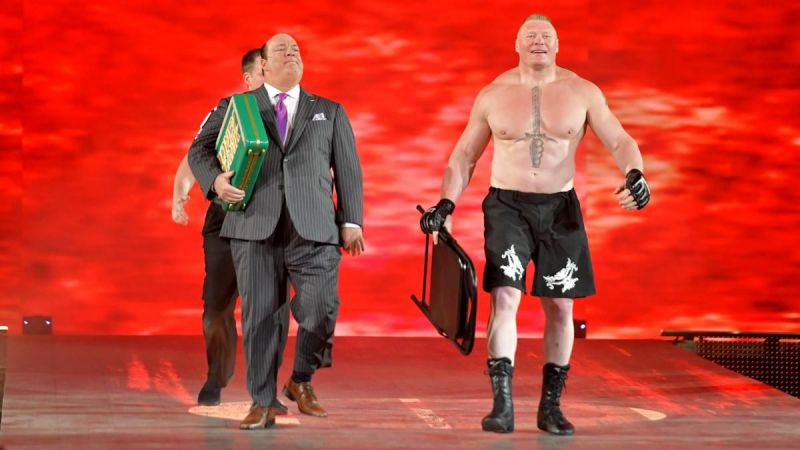 Brock Lesnar did not become the champion of either brand