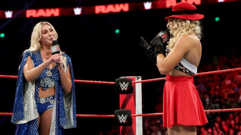 Charlotte Flair and Lacey Evans will mostly lock horns once again at WWE Stomping Grounds