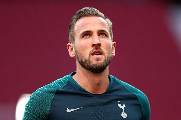 Harry Kane was a spectator for most of the match.
