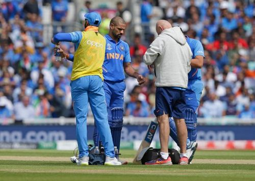 Dhawan's injury is a big blow for Team India