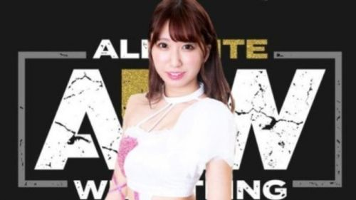 Riho is returning to AEW for a triple threat match
