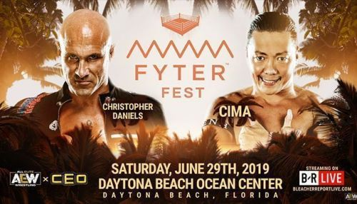 Christopher Daniels vs. CIMA