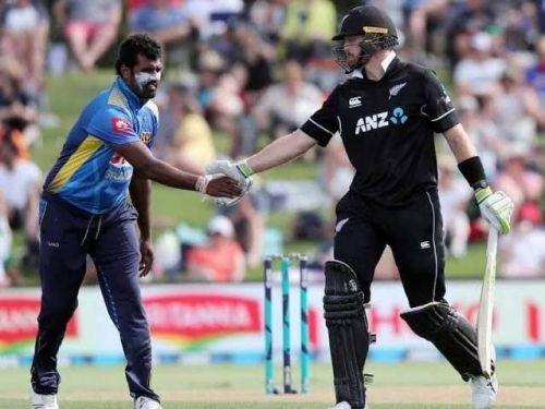 Sri Lanka prepare to face stern New Zealand at Cardiff.