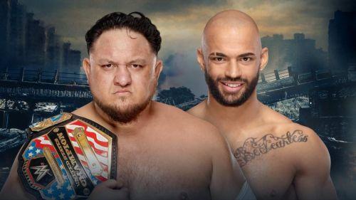 Will Samoa Joe put away the up-and-comer?