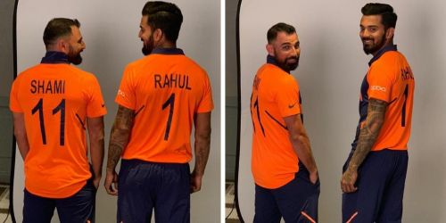 Team India's new away jersey