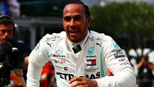Mercedes star Lewis Hamilton