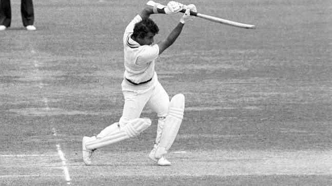 Sunil Gavaskar scored 36 of 174 balls in the 1975 World Cup against England