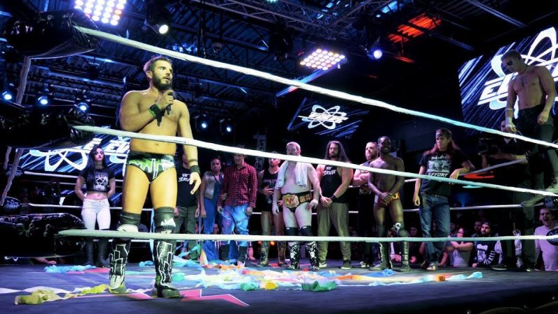 Current NXT star Johnny Gargano was a major part of EVOLVE