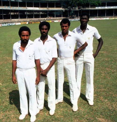 The legendary West Indies quartet
