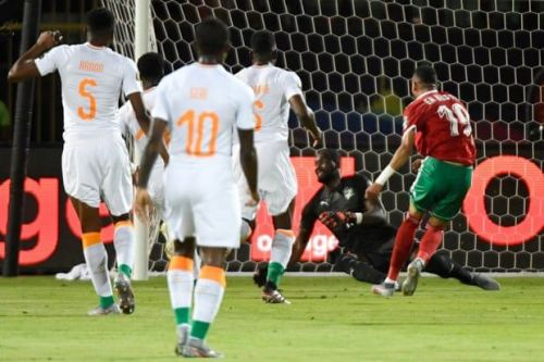 A brilliant move by the Moroccans result in a beautiful goal