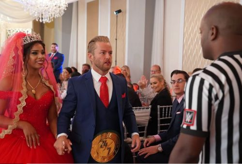 The title change took place at the wedding