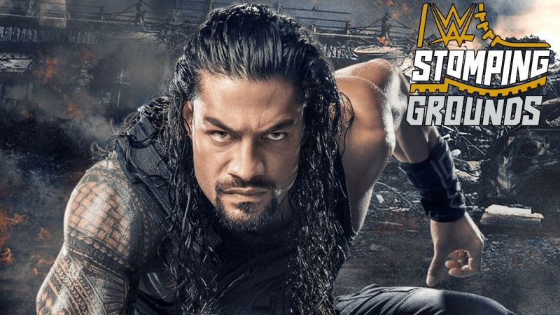 Roman Reigns is the poster boy for Stomping Grounds