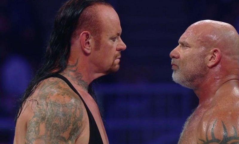 The WWE should book Goldberg vs Undertaker at WM 36.