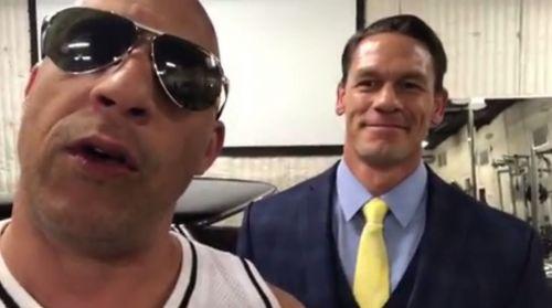 Cena and Diesel