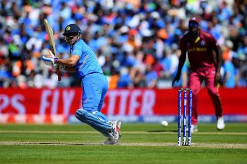 MS Dhoni played a match-winning knock against West Indies
