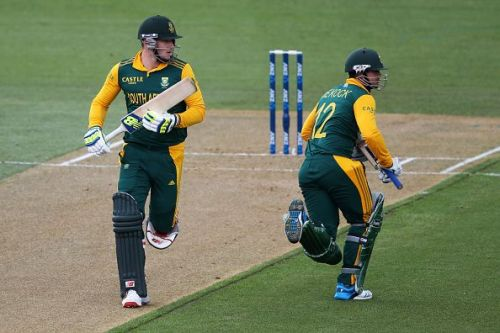 The South African innings will need a good start and a good finish