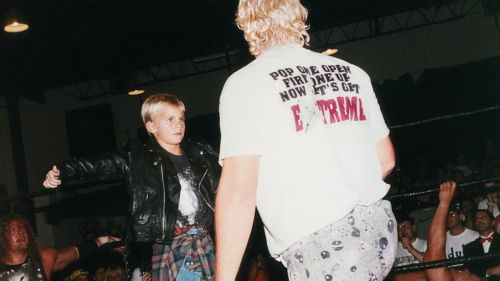 Sandman's son Tyler would make his ECW debut as a child, as part of the mind-games on the ECW legend by his nemesis Raven.