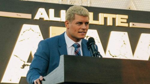 Cody Rhodes is one of AEW's executive vice presidents