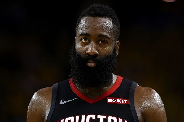 James Harden is being linked with a move away from the Houston Rockets