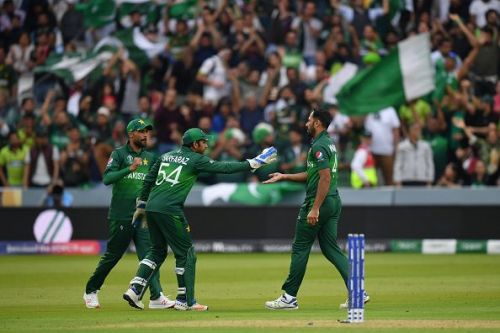 Pakistan defeated South Africa in their last match of ICC Cricket World Cup 2019