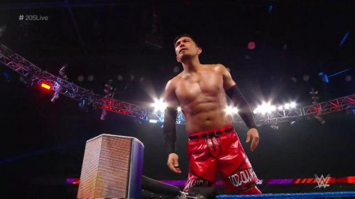 Akira Tozawa had one more obstacle to climb before earning a Cruiserweight Title shot