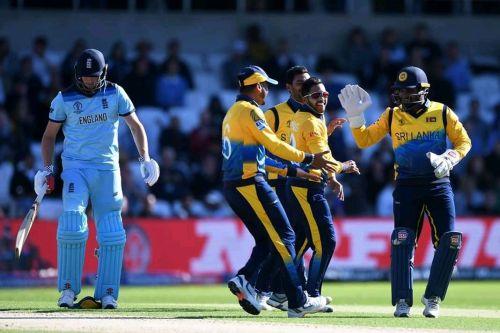 श्रीलंका ने इंग्लैंड पर शानदार जीत दर्ज की