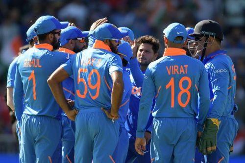 भारतीय टीम अंक तालिका में दूसरे स्थान पर पहुंची
