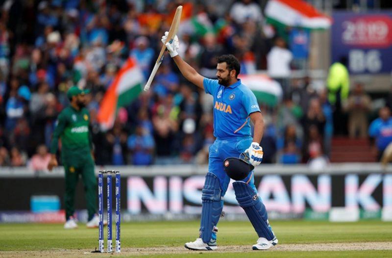 Rohit Sharma brought up his 25th ODI ton