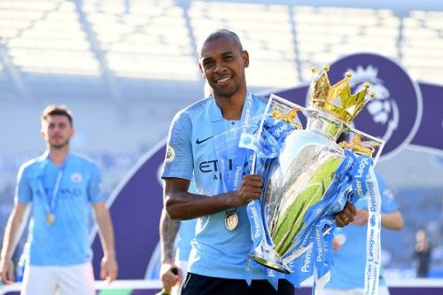 Fernandinho has played an integral role in Manchester City's Premier League triumph